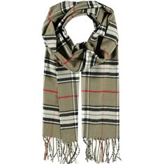 Scarf Acryl nut brown