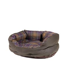 "Wax/Cotton Dog Bed 24"" M"