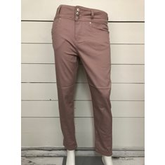 Byxa Mette ancle twill  Old pink