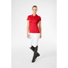 Pike Halo Polo  Red