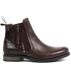Jodphurs Concrete Leather Brown