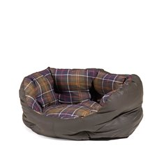"Wax/Cotton Dog Bed 18"" S"