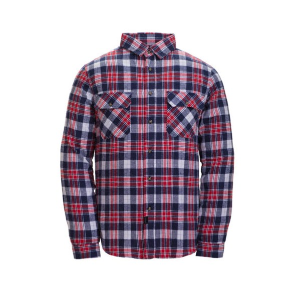 Skjorta Ronny  Chili red check